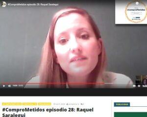 Raquel Saralegui en Pamplonatelevision.es